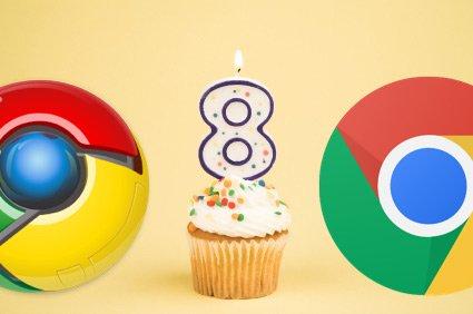 Happy 8th Birthday, Google Chrome!