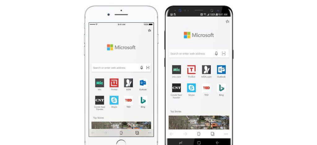 Microsoft Edge บน iOS/Android เลือกใช้เอนจิน WebKit/Blink สำหรับแสดงผล