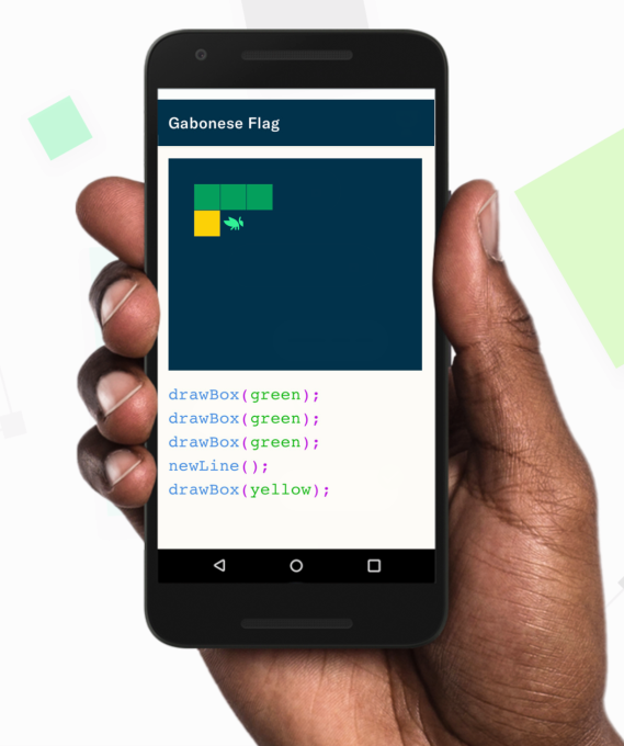 Grasshopper, a learn-to-code app from Google's Area 120 incubator, goes live
