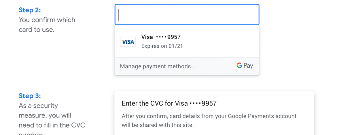 Easier Payments with Chrome