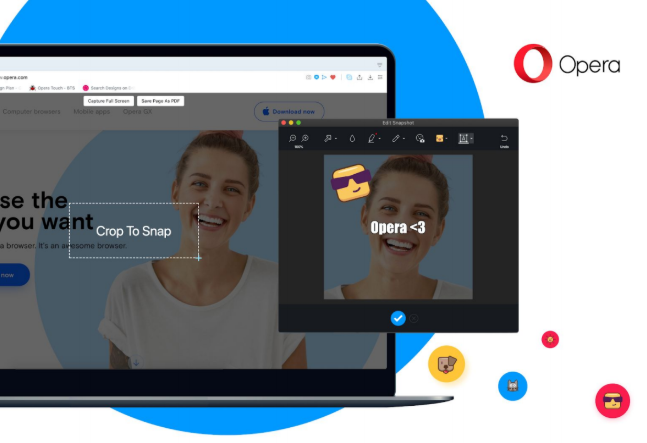 Opera's desktop browser gets built-in tracking protection