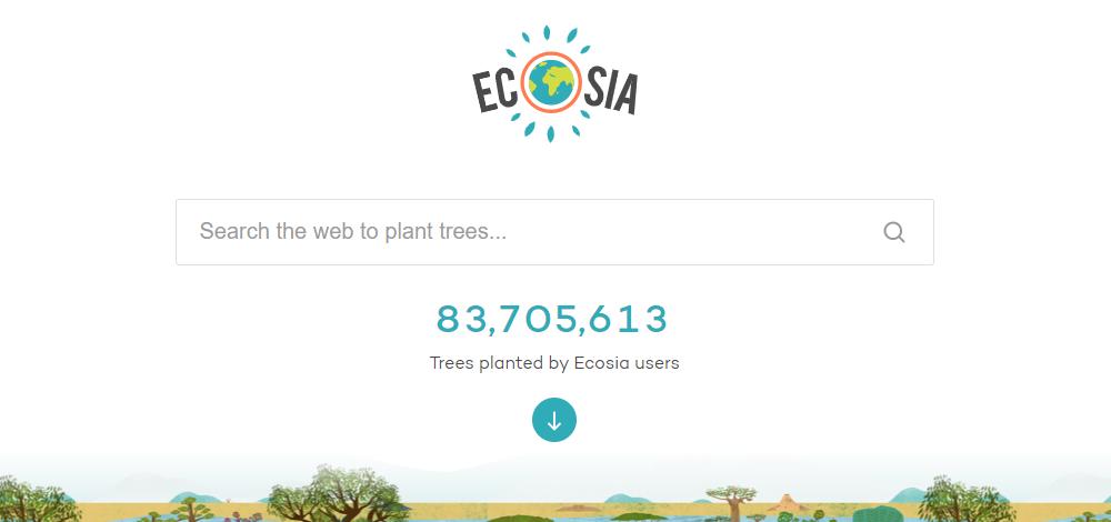 กูเกิลกำลังเพิ่ม Ecosia เสิร์ชเอนจินรักโลกเป็นทางเลือกค้นหาเว็บใหม่ใน Chrome