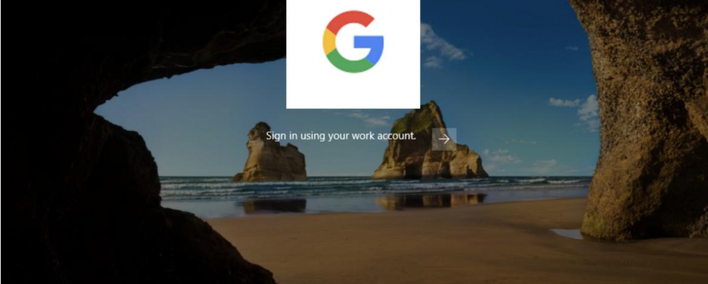 แอดมิน G Suite คอนฟิกเครื่อง Windows 10 ได้แล้ว, ล็อกอินเครื่องด้วยบัญชี Google ได้