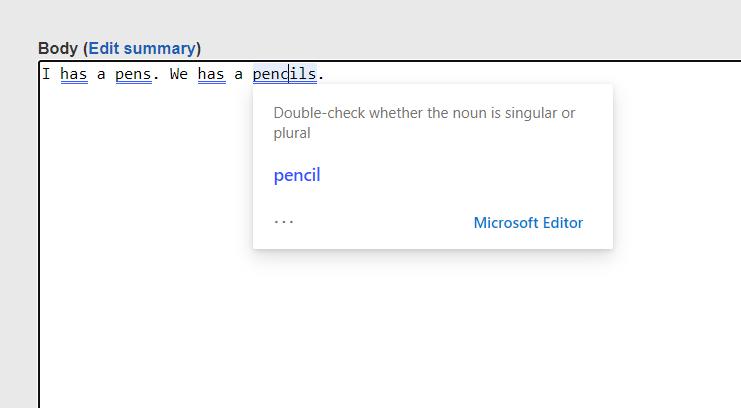 Microsoft Editor ส่วนขยายใช้ตรวจสะกด-ไวยากรณ์ เปิดใช้บน Edge/Chrome แล้ว